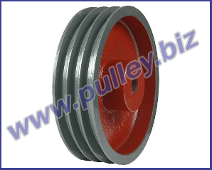 plate type heavy bush pulley