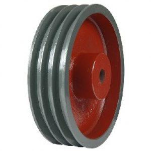 plate type heavy bush pulleys