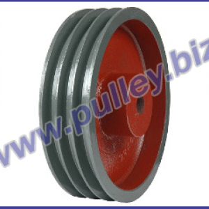 plate type heavy bush pulley